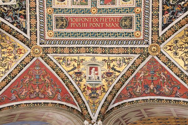 Toskana - Siena - Dom - Die Piccolomini-Bibliothek
